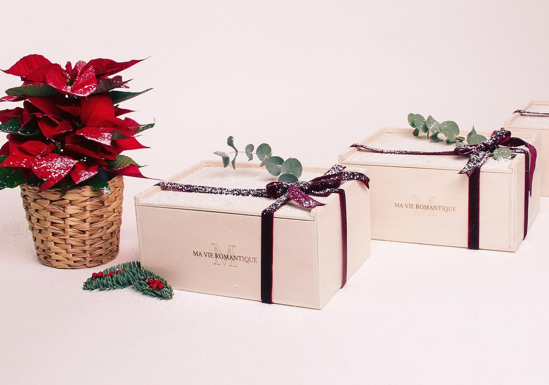 Cajas regalo para Navidad