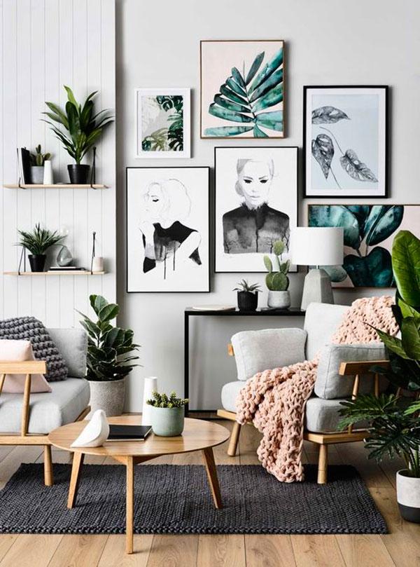 Greenery: decora tu hogar con plantas